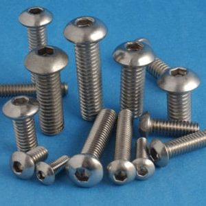 M3 BUTTON HEAD STAINLESS STEEL SCREWS /BOLTS ALLENHEAD A2-304