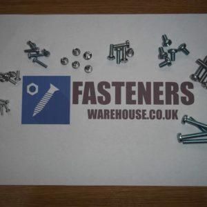 M6 PANHEAD SCREWS BZP POZI PAN MACHINE SCREWS METRIC BOLTS