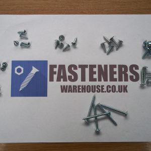No. 4 FLANGED HEAD SELF TAPPING / TAPPER POZI SCREWS BZP FLANGE