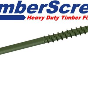 Timber Drive Woodscrews Hex Head for Stairs, Decking, Fences & Roofing Joists in Green or Brown